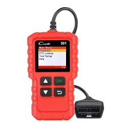 LAUNCH X431 Creader 301 Full OBD2 EOBD Code Reader Scanner