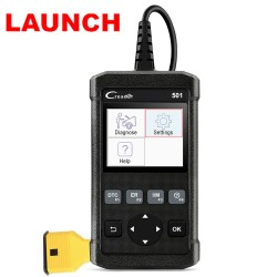 LAUNCH X431 Code Reader 501 OBD2 Automotive Diagnostic Scanner Support Multi-language and Free Update Online